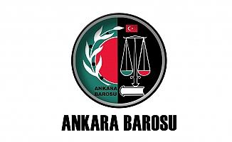 Ankara Barosu'ndan Bakanlıklara: İkinci Baro İçin Kamu Avukatlarına Telkinde Bulunuyor musunuz?