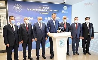 Bakan Kurum, Temaslı Olduğu için Kabineye Giremedi, Ankara'da Proje Toplantısına Katıldı