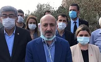 CHP Genel Başkan Yardımcısı Ali Öztunç: ''Hatay yanmıyor, yakılıyor, zafiyet var''