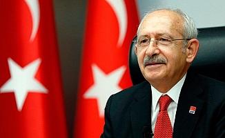 CHP Genel Başkanı Kılıçdaroğlu, Ersin Tatar'ı Kutladı