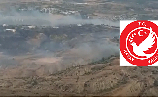 Hatay Valiliği: Yangın, Trafo Patlaması Sonucu Meydana Geldi