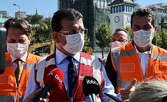 """İmamoğlu'ndan """"Deprem"""" mesajı: Siyasetçiler sussun, akıl konuşsun"""