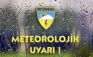 Meteoroloji'den 9 il için hava durumu uyarısı