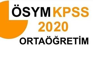 2020 KPSS Ortaöğretim sınava giriş belgeleri erişime açıldı