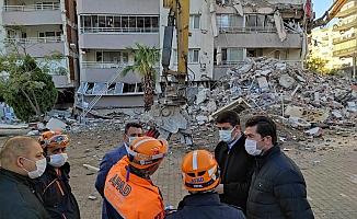 CHP'li Vekiller Ve Belediyeler İzmir'le Tek Yürek