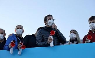 İmamoğlu: ''Maraton, İstanbul'un olimpiyat ruhunun kıvılcımı''