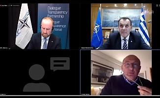 NATOPA toplantısında Yunan bakana yanıt CHP'li Çakırözer'den geldi: Adaları silahlandıran sizsiniz