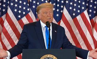 Trump'tan son dakika açıklaması: Biz bu seçimi kazandık!