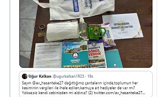 """""""Belediye eşantiyonlarını AKP İlçe Başkanlığı dağıtıyor"""""""