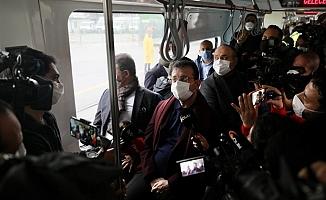 İmamoğlu: Alibeyköy-Cibali Tramvay Hattı 1 Ocak'ta hizmete giriyor
