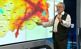 Prof. Dr. Naci Görür, Elazığ'da meydana gelen deprem hakkında konuştu