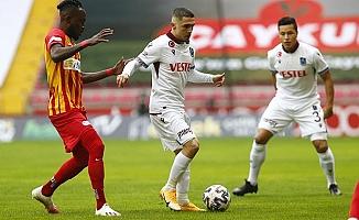 Trabzonspor Kayseri'den beraberlikle döndü
