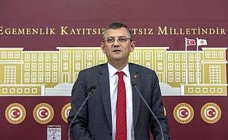 CHP Grup Başkanvekili Özgür Özel'den gündeme dair açıklamalar