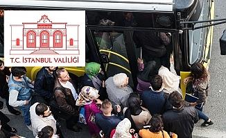 İstanbul'da, 20 Yaş Altı ve 65 Yaş Üstü Vatandaşlar İçin Toplu Taşıma Yasağı