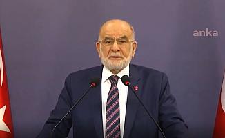 Karamollaoğlu: Sayın Cumhurbaşkanı'nın Sessizliği Bizi Şaşırtmaktadır