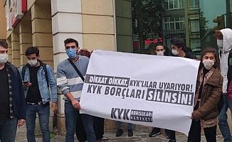 KYK'lılar borçlarının silinmesi talebiyle Ankara'ya yürüyecek