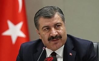 """Sağlık Bakanı Koca:  """"Son 2 hafta içinde İstanbul ve İzmir'de yüzde 40, Ankara ve Bursa'da yüzde 60'a yakın düşüş oldu"""""""