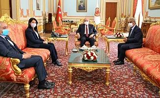 HDP, TBMM Başkanı Şentop ile görüştü
