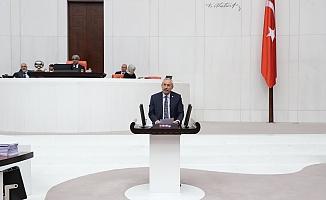 CHP'li Kaplan, apartman görevlilerinin sorunlarını Meclis'e taşıdı