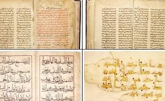 İBB, İngiltere'deki Açık Artırmada 9 Kuran-ı Kerim ve El Yazmaları Aldı