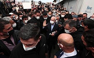 """Kılıçdaroğlu Cumhuriyet Mahallesinde halkla buluştu: """"Burada yaratılan rantın sahibi sizsiniz"""""""