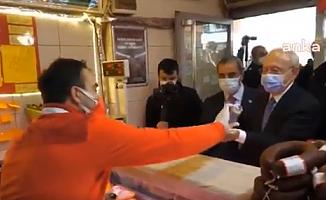 Kılıçdaroğlu, Bursa'da bir kasabın borç defterini kapattı!