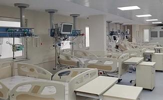 Yemekhane ve fizik tedavi servisleri yoğun bakıma dönüştürülüyor