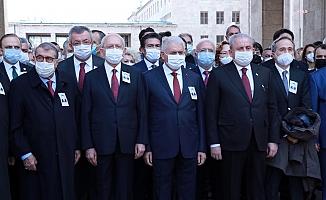 Yıldırım Akbulut için TBMM'de cenaze töreni düzenlendi