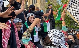 ABD'de ''Filistin'e Destek Yürüyüşleri'' Devam Ediyor