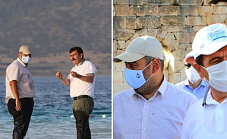 Burdur Valisi, Binali Yıldırım'ın Oğluyla Fotoğrafını Paylaştı