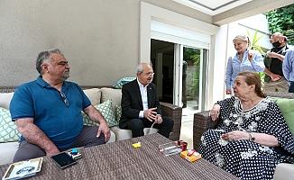 CHP Lideri Kılıçdaroğlu, Özal ailesini ziyaret etti
