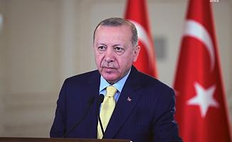 """Erdoğan'dan KKTC mesajı: """"Yeni bir müzakere süreci olacaksa, iki toplum değil iki devlet arasında yürütülmelidir"""""""