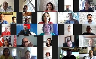 Kılıçdaroğlu, CHP İstanbul örgütü ile online bayramlaşmada buluştu