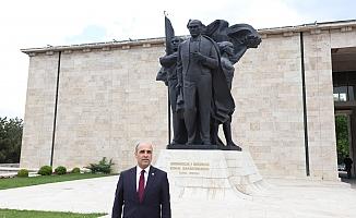 """CHP'li Şahin; """"Atatürk, Türk Milletinin Birlik ve Beraberliğini Sağlayan En Büyük Değerimizdir!"""""""