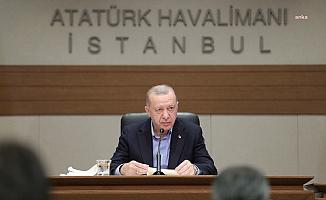 Erdoğan'dan Biden görüşmesi öncesinde mesaj: 'Temenni ederim 24 Nisan'ı unutturacak adımları atmış oluruz'