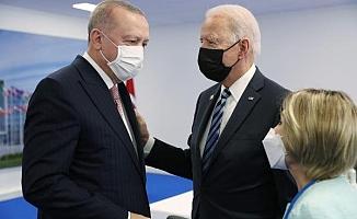Erdoğan - Joe Biden arasında 45 dakikalık görüşme