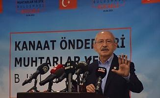 Kılıçdaroğlu: Bir silah sanayimizi verdik, 5 kuruş almadık, şimdi MKE'nin vermenin hazırlıklarını yapıyorlar