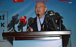 Kılıçdaroğlu: Devlet Hukuk İçinde Çalışmazsa Organize Suç Örgütüne Dönüşebilir