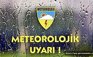 Meteoroloji'den sağanak uyarısı
