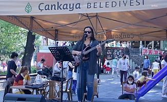 Müzisyenlere Destek İçin Çankaya'da Sokaklar Sahne Oldu