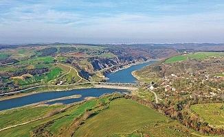 Olmayan kanal ve yeni şehir için köprü temeli atılacak
