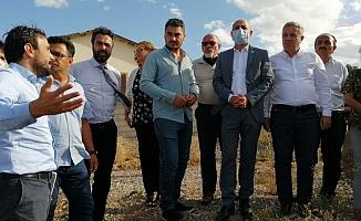 """CHP'li Öztunç ve Arık'tan Kayseri'nin Burunören Mahallesi'ndeki kum ocağı direnişine destek: """"Köyün içinde kum ocağı olur mu?"""""""