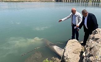 CHP'li Tanal, Dicle'ye atık su bırakıldığını belirledi, suç duyurusunda bulundu