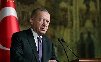Erdoğan: Yangınlarla mücadelemizi 45 helikopter, 6 uçakla sürdürüyoruz