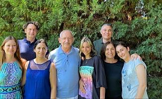 """Kılıçdaroğlu ailesiyle birlikte bayramı kutladı: """"Her şey çözülecek, her şey çok daha güzel olacak"""""""