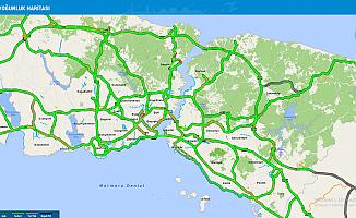Tatilciler gitti, İstanbul'da trafik yüzde 17'ye düştü