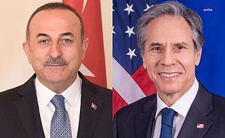 Çavuşoğlu ve Blinken Afganistan'ı konuştu