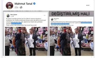 CHP'li Tanal: CHP'lilere idam istedi, tepki gelince hesabını kapattı