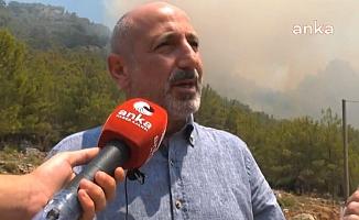 """CHP'li Öztunç ve Erkek Orhaniye'de: """"Bugün defalarca 'havadan müdahale' dedik, gelmedi"""""""