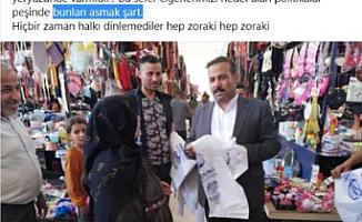 """CHP'lilere yönelik """"Bunları asmak şart"""" diyen, Akçakale Belediye Başkan Yardımcısı Çokan hakkında suç duyurusu"""